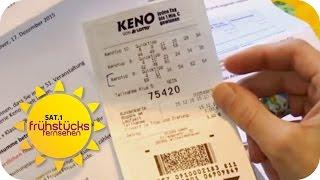 Lotto-Gewinner auf Hartz IV | SAT.1 Frühstücksfernsehen