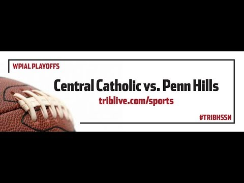 WPIAL Football Class 6-A Semifinals - Penn Hills vs Pittsburgh Central Catholic