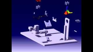 Toggle Clamp Animation Video(catia V5)