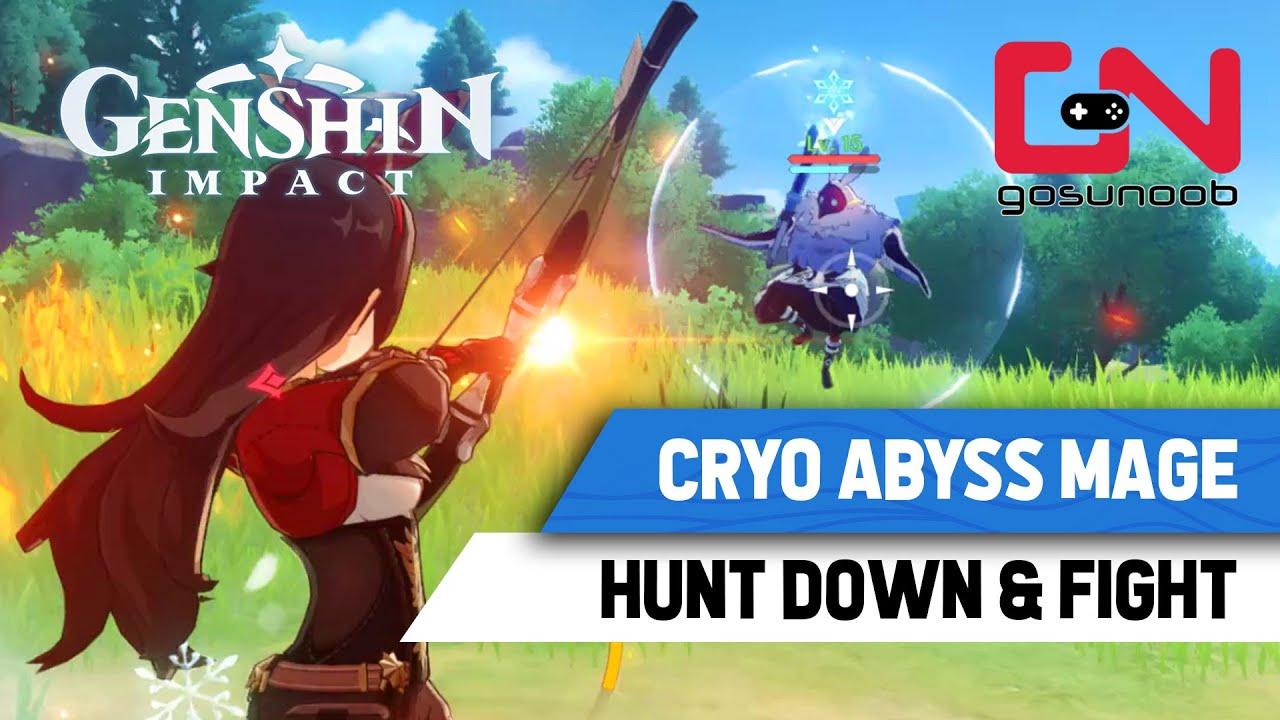 Guides Genshin Impact Cryo Abyss Mage Hunt And Fight Famosetv