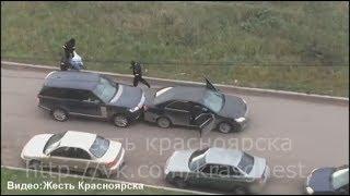 Нападение в Красноярске на ул. Алексеева