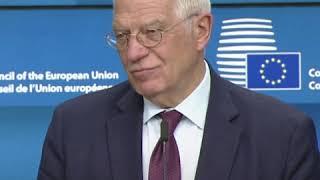 欧盟对北京通过制定香港国安法的决定深表关切