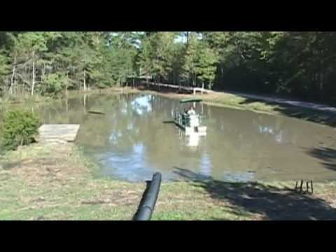 Pond Dredging - Sediment and Heavy Vegetation removal