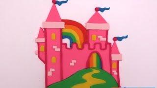 замок из пластилина своими руками Play doh пластилин