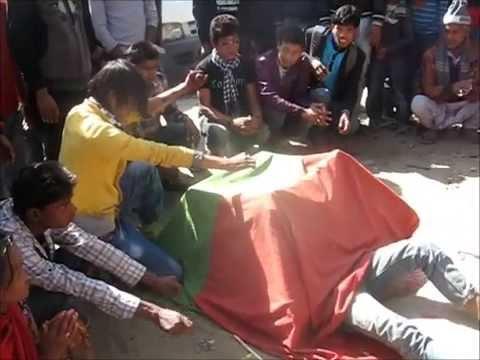 Street Performance Of A Vanishing Act   Kathmandu, Nepal   10-Mar-2012