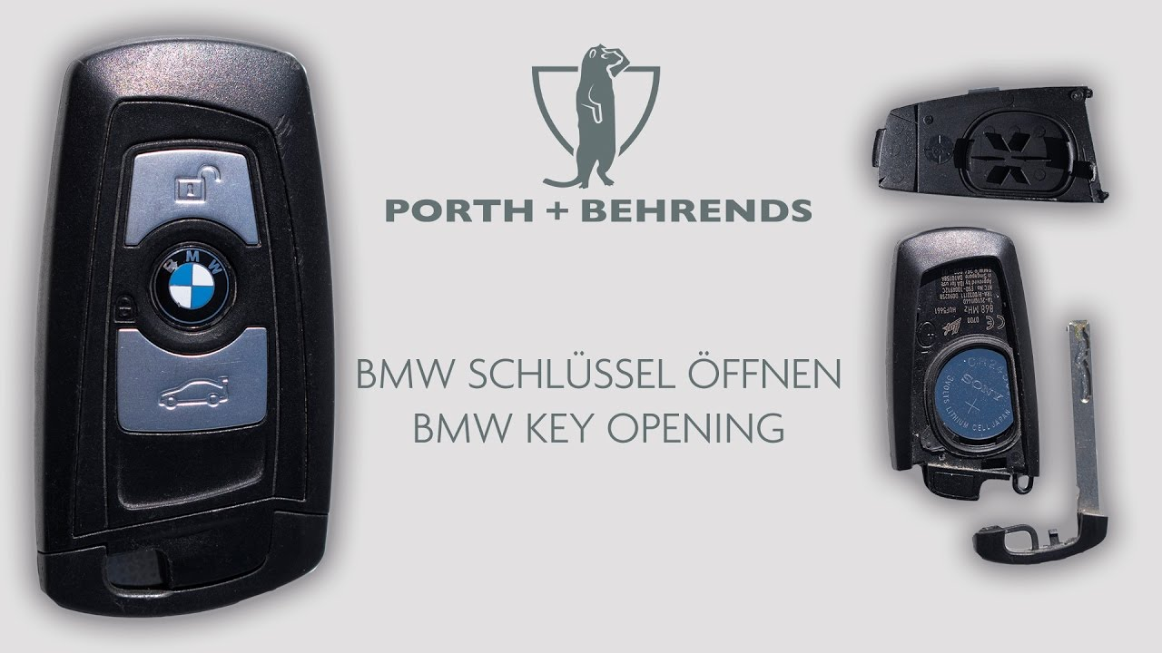 bmw schl ssel ffnen bmw key opening youtube. Black Bedroom Furniture Sets. Home Design Ideas