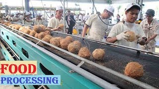 vuclip Amazing COCONUT Processing in Factory ★ Coconut Oil, Milk & Water ★ Awesome Food Processing Machines