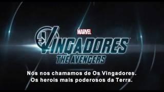 Os Vingadores (The Avengers) Cenas Novas - Trailer Super Bowl Legendado HD - Filme 2012