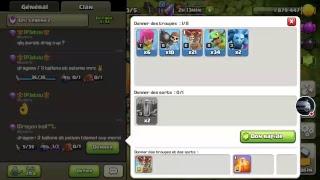 Clash of Clans FR // ON TENTE LES 5200 HDV10 AVANT LA FIN DE SAISON 🔎🔍✌🤞😅