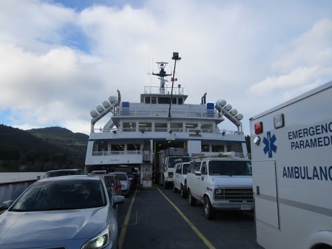 BC Ferries' Swartz Bay to Fulford Harbour (Bowen Queen)