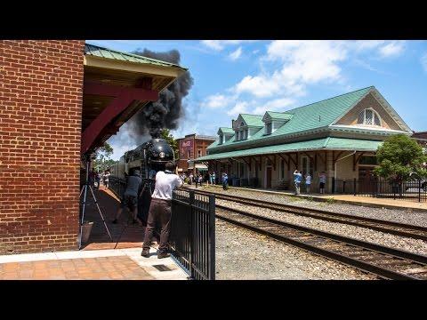 NS 957 Steam Excursion - Orange, Virginia