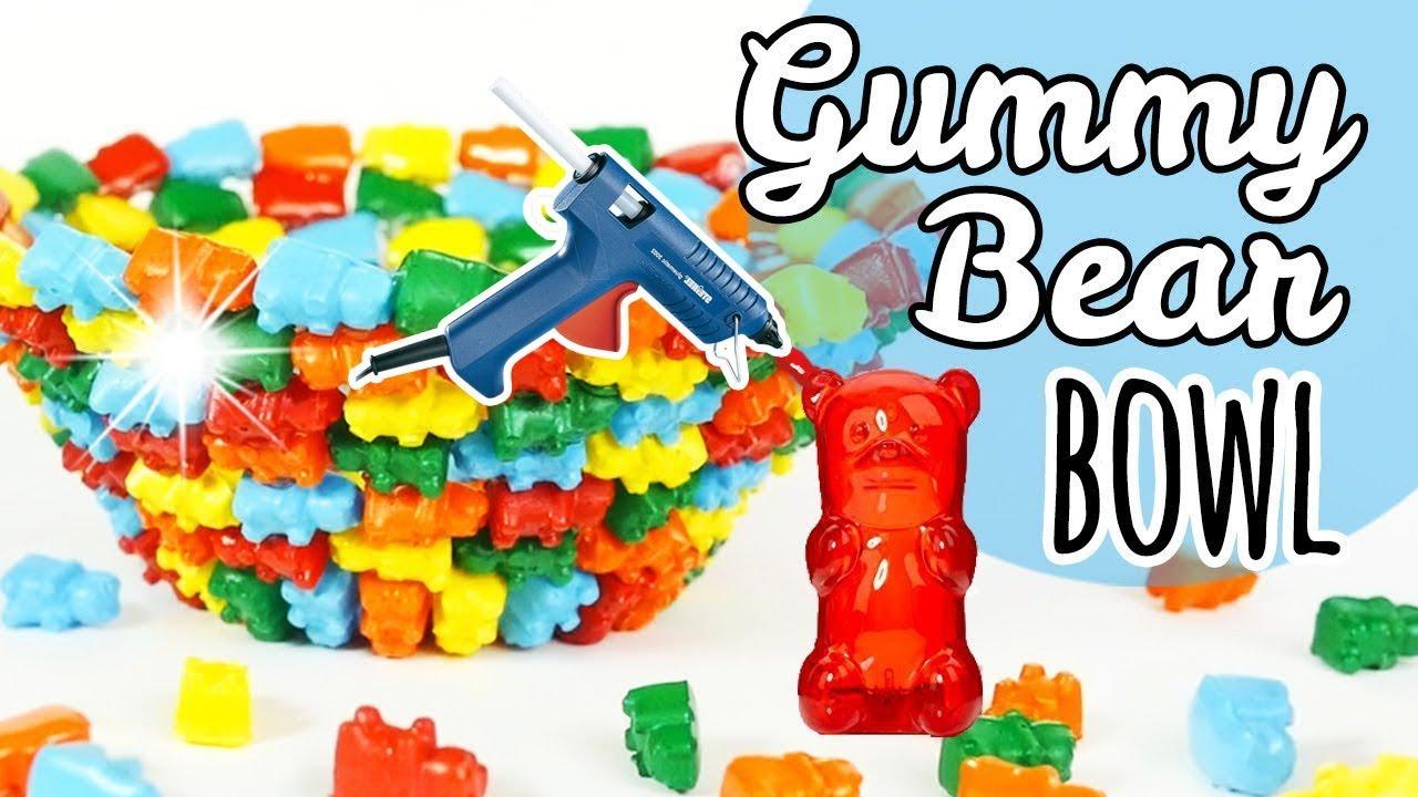 Hot Glue Gummy Bear Bowl Diy Room