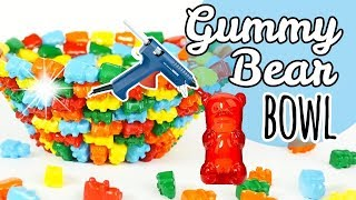 HOT GLUE Gummy Bear Bowl | DIY Room Decor