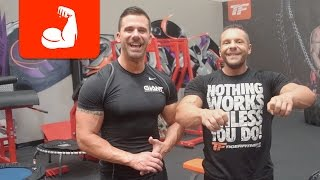 Exercises and Supplements For Ripped 6 Pack Abs | With Marc and Kevin Moore of Giant Sports
