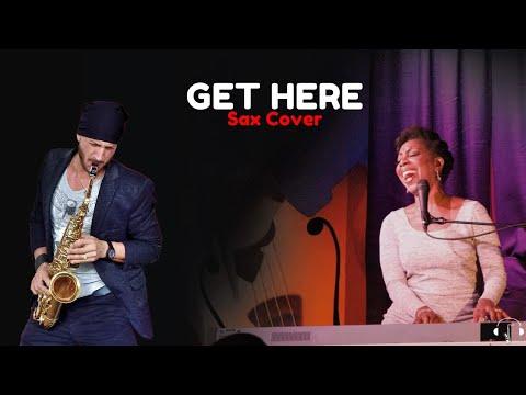 Get here - Oleta Adams Cover Alto Sax Karaoke