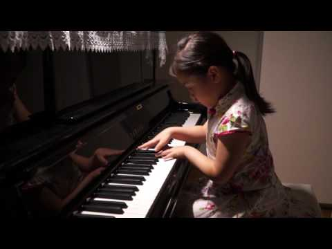 Anke Chen_Age 6_Plays Chopin Nocturne No.20 in C sharp minor, Op.Posth.