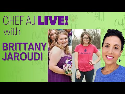 BRITTANY JAROUDI LOST 70 POUNDS EATING PLANTS AND PREPARES VEGAN CHARCUTERIE