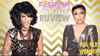 rupaul s drag race fashion photo ruview with raja and raven season 7 episode 7 leather lace