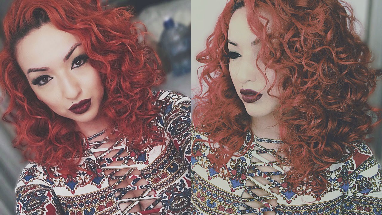 big curly hair tutorial