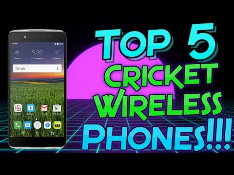 Top 5 Cricket Wireless Phones (2017)