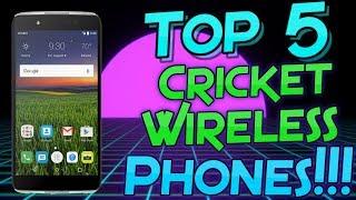 Top 5 Cricket Wireless Phones (2017)