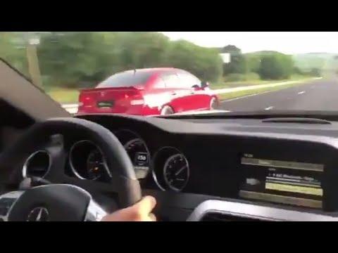 Benga é Benga: Mercedes-Benz C 63 AMG Vs Honda Civic Si Turbo