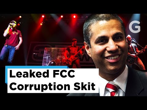 "Leaked Video of FCC Chairman Ajit Pai's ""Funny"" Skit"