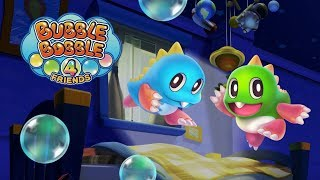 Bubble Bobble 4 Friends (Switch) First 16 Minutes on Nintendo Switch - First Look - Gameplay