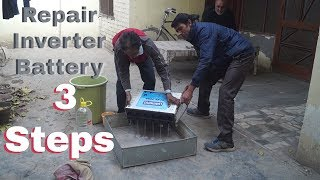 How to Repair Inverter Battery at Home - By Mahinder's Talent | Hindi