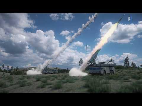 """Работа ЗРК """"Бук-М2"""" по BGM-109 Tomahawk и  F/A-18 Hornet, ЗРС С-300ВМ """"Антей-2500"""" по баллистике"""
