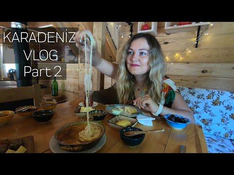 Karadeniz'de Bulutların Arasında Bungalov Otel | Karadeniz Yaylaları Vlog