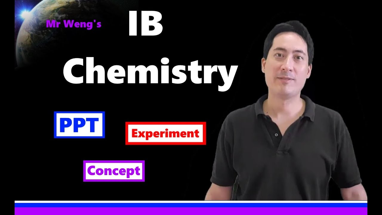 IB Chemistry videos SL HL all topics - revision, review