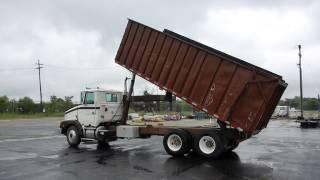 1994 White GMC Dump Truck