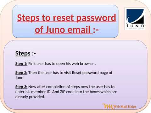 How To Reset Password Of Juno Email Youtube