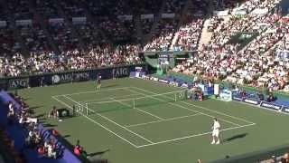 2006/10/7 AIG Open  Roger Federer vs Benjamin Becker