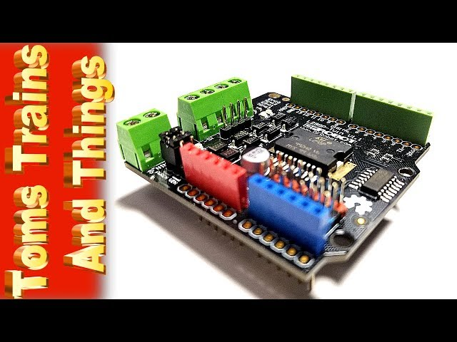 Does The DF Robot Motor Shield Work With DCC++