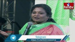 TS Governor Tamilisai Speech at bharatha Matha Harathi || hmtv