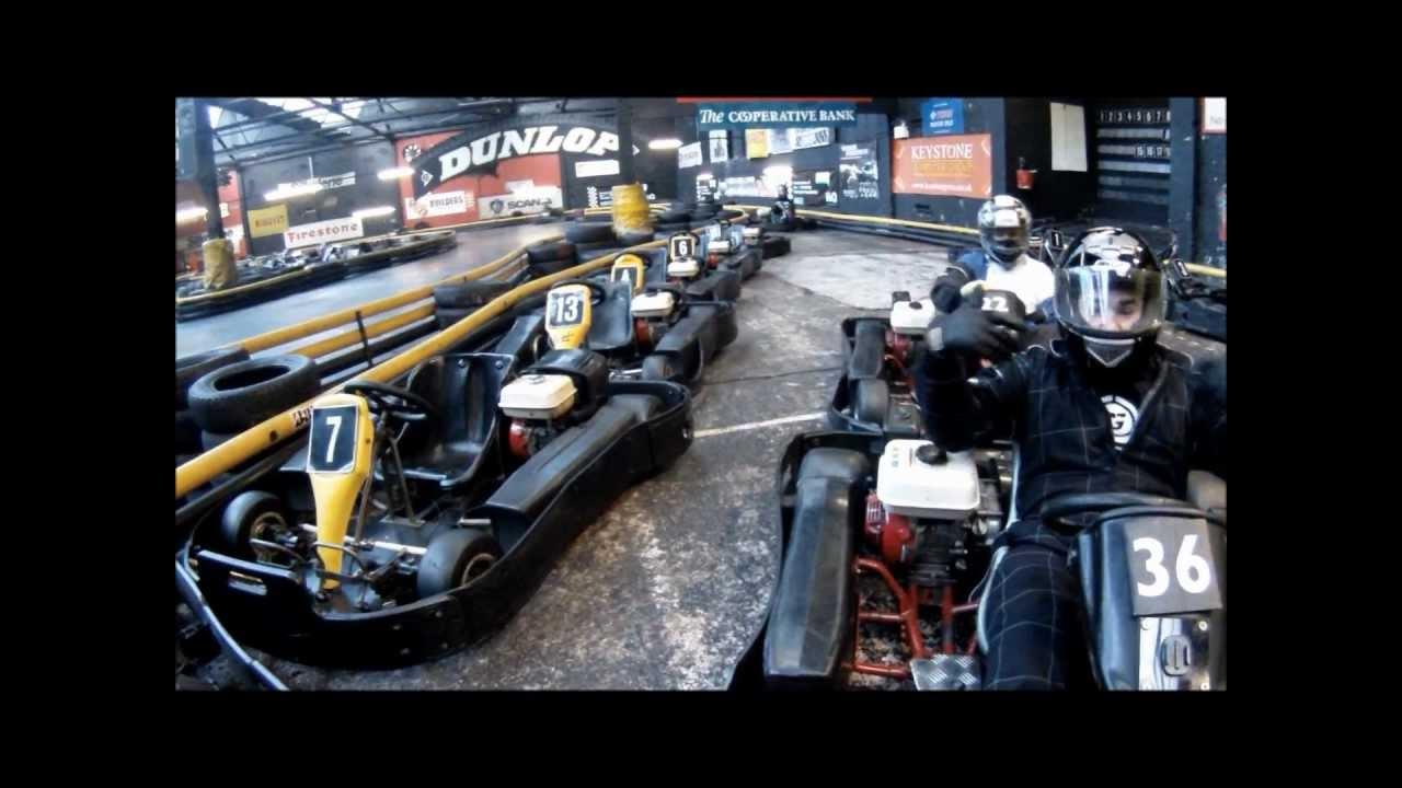 Stoke go karting
