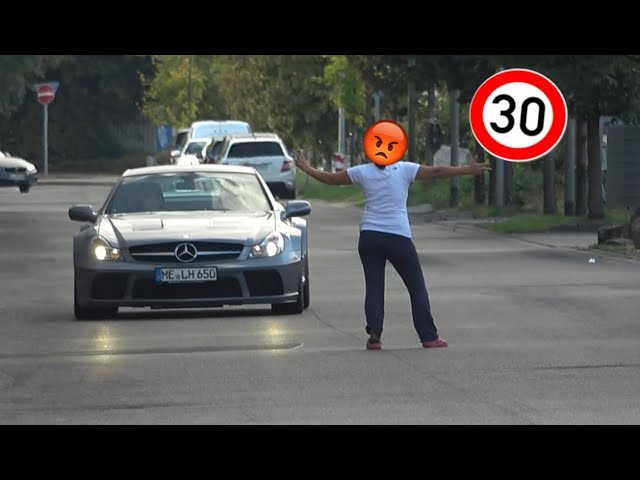 ANGRY WOMEN vs. SL 65 AMG BLACK SERIES!