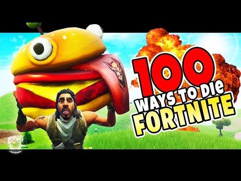 100 WAYS TO DIE IN FORTNITE! - A Fortnite Short Film