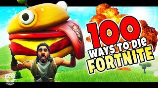 100 WAYS TO DIE IN FORTNITE! - A Fortnite Short Film