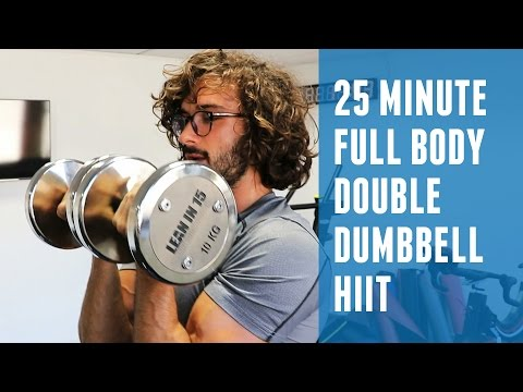 25 Minute Full Body Dumbbell HIIT | The Body Coach