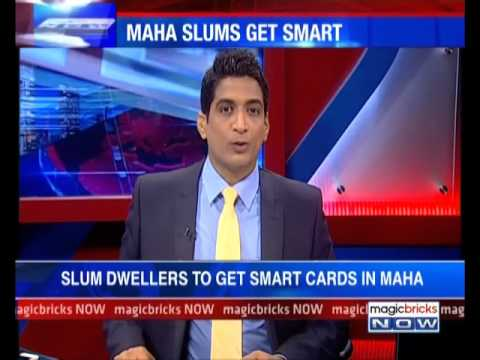 The News – Slum dwellers to get smart cards in Maharashtra