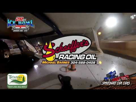 #94 Oakley Gillespie - Open Wheel Modified - 1-6-19 Talladega Short Track - In Car Camera