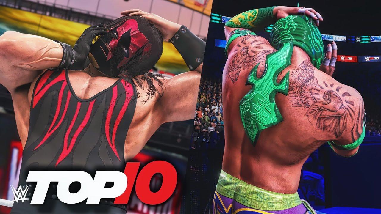 Download WWE Top 10 Incredible Unmaskings (WWE 2K)