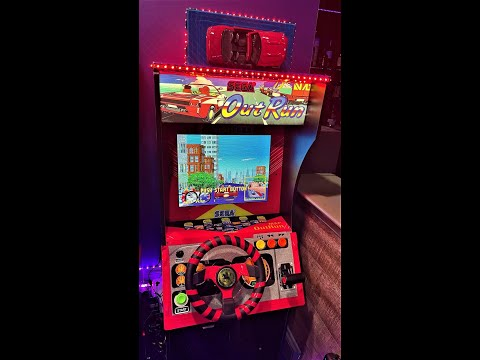 Out Run Sega' CRAZY MOD! (Arcade1Up) with Topper from Arcade Will