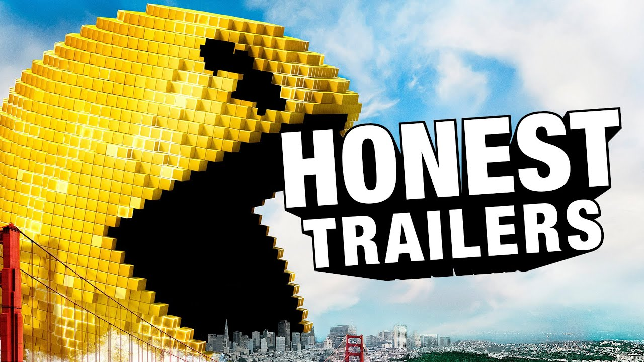 honest trailers pixels youtube