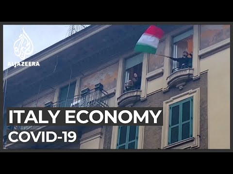 Italians concerned over COVID-19 economic impact