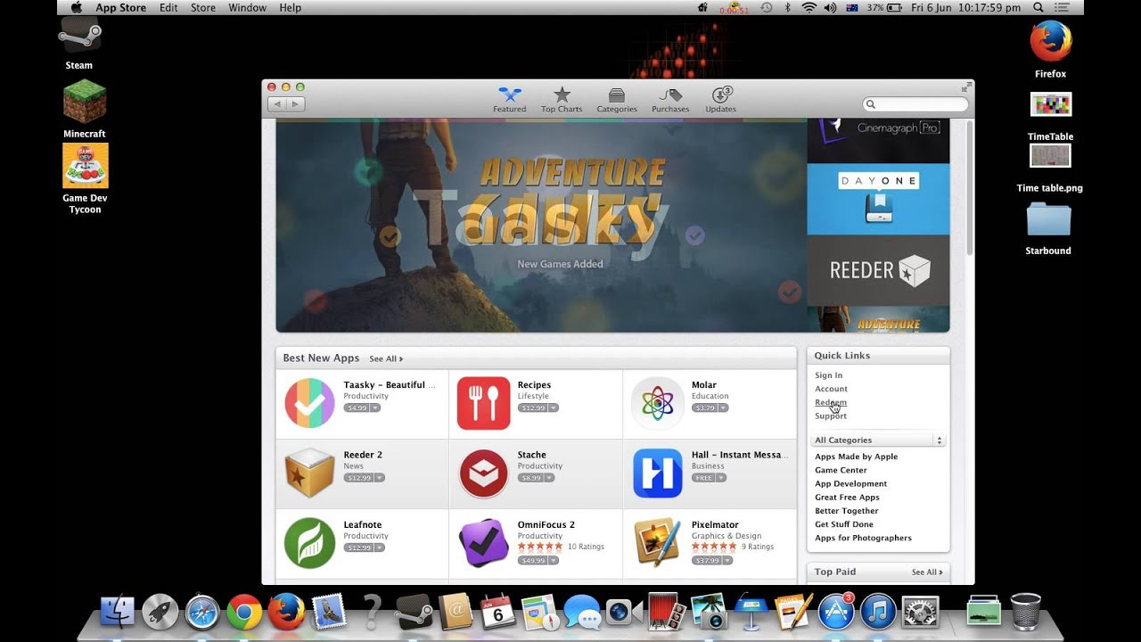 This is how to redeem a iTunes card on mac