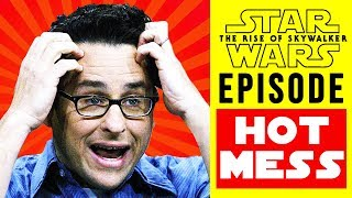 """STAR WARS - J.J. ABRAMS CHANGED THE ENDING OF """"THE RISE OF SKYWALKER"""" WHILE FILMING"""
